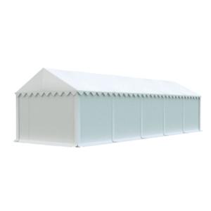 Skladový stan 4x10 biela EKONOMY vyobraziť
