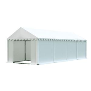 Skladový stan 4x8m biela PREMIUM vyobraziť