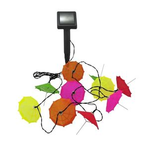 Polux LED Solárna reťaz 10xLED/1, 2V IP44 dáždniky vyobraziť
