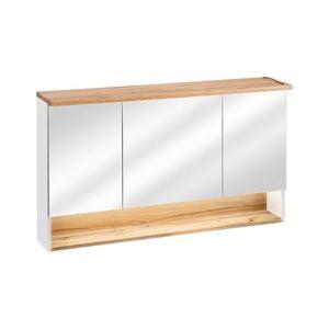 ArtCom Kúpeľňová zostava BAHAMA / white Bahama: zrkadlová skrinka 843 -120 cm | 70 x 120 x 20 cm vyobraziť