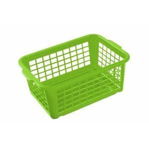 Keeeper Košík stohovateľný, plast, svetlo zelený vyobraziť