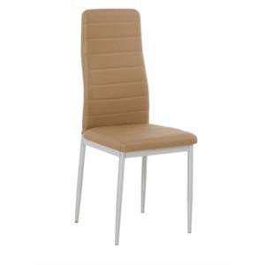 TEMPO KONDELA Coleta Nova jedálenská stolička béžová / biela vyobraziť