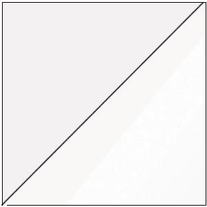WIP Toaletný stolík VIKI 15 Farba: Biela / biely lesk vyobraziť
