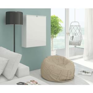 WIP PC stolík Hide / lesklý Farba: biely lesk / biela vyobraziť