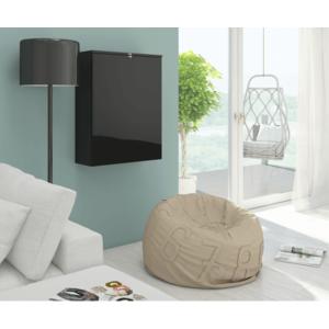 WIP PC stolík Hide / lesklý Farba: čierny lesk / čierna vyobraziť