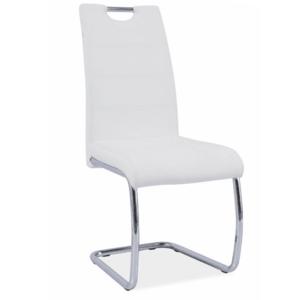 Stoličky biele vyobraziť