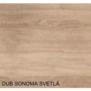 Pracovná doska 90 cm, farba dub sonoma vyobraziť
