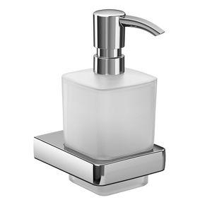 Emco Trend - Nástenný dávkovač tekutého mydla, krištáľové sklo 022100100 vyobraziť