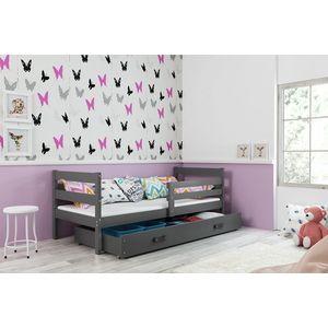 BMS Detská jednolôžková posteľ ERYK | sivá Farba: Sivá / sivá, Rozmer.: 190 x 80 cm vyobraziť