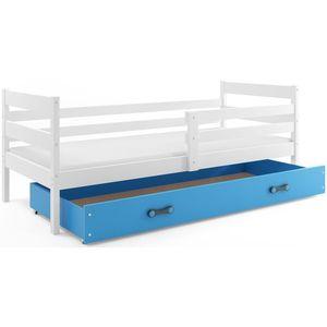 BMS Detská jednolôžková posteľ Eryk | BIELA Farba: biela / modrá, Rozmer.: 190 x 80 cm vyobraziť