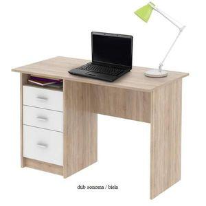 Tempo Kondela PC stôl SAMSON NEW SAMSON: Pc stôl SAMSON / dub sonoma / biela vyobraziť