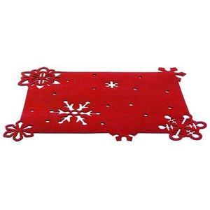 TORO Plstené prestieranie TORO 45x35cm červené vyobraziť