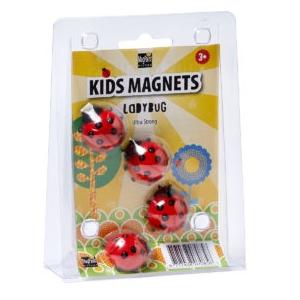 PAINTHOUSE Detské magnety - Lienky vyobraziť