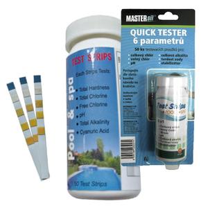 MASTERsil Quick tester papieriky 6 parametrov vyobraziť