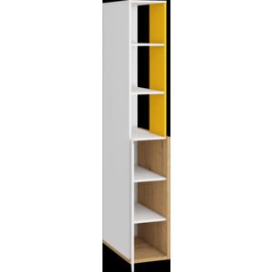 WIP Prídavná skrinka HEY-06 33 Farba: Dub artisan/biela/žltá vyobraziť