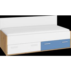 WIP Posteľ HEY-10 205 Farba: Dub artisan/biela/modrá vyobraziť