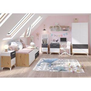 WIP Detská izba HEY 1 Farba: Dub artisan/biela/grafit vyobraziť