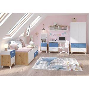 WIP Detská izba HEY 1 Farba: Dub artisan/biela/modrá vyobraziť
