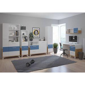 WIP Detská izba HEY 2 Farba: Dub artisan/biela/modrá vyobraziť