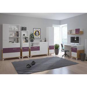 WIP Detská izba HEY 2 Farba: Dub artisan/biela/fialová vyobraziť