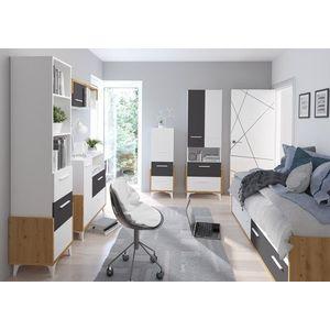 WIP Detská izba HEY 3 Farba: Dub artisan/biela/grafit vyobraziť