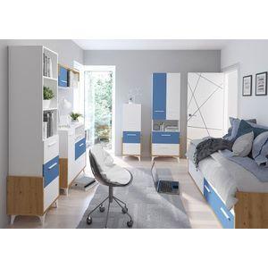 WIP Detská izba HEY 3 Farba: Dub artisan/biela/modrá vyobraziť
