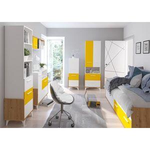 WIP Detská izba HEY 3 Farba: Dub artisan/biela/žltá vyobraziť