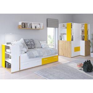 WIP Detská izba HEY 4 Farba: Dub artisan/biela/žltá vyobraziť