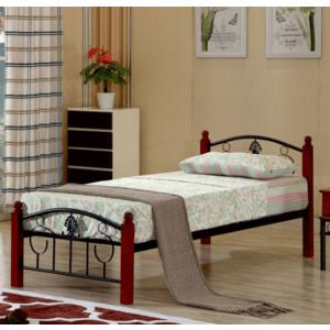 Tempo Kondela Jednolôžková kovová posteľ MAGENTA / 90x200 vyobraziť
