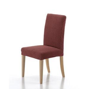 Poťah elastický na celú stoličku, komplet 2 ks SADA, tehlová vyobraziť