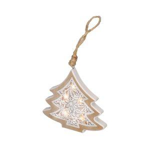 Solight LED Vianočná dekorácia 6xLED/2xAAA stromček vyobraziť