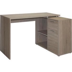 Písací stôl v tvare L vyobraziť
