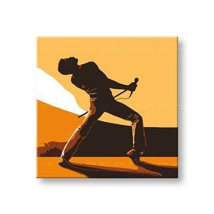 Ručne maľovaný POP Art obraz FREDDIE MERCURY 1 dielny fm3 (POP ART obrazy) vyobraziť