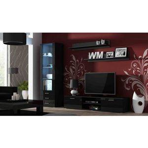 Artcam Obývacia stena Soho Farba: Čierna/čierny lesk vyobraziť