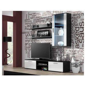 Artcam Obývacia stena Soho 5 Farba: čierna/biely lesk vyobraziť