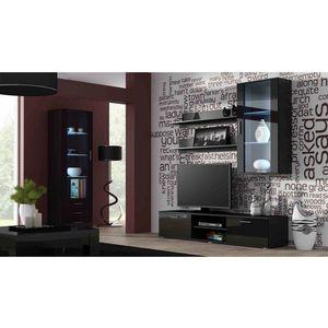 Artcam Obývacia stena Soho 6 Farba: Čierna/čierny lesk vyobraziť