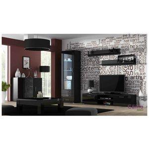 Artcam Obývacia stena Soho 2 Farba: Čierna/čierny lesk vyobraziť