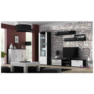 Artcam Obývacia stena Soho 2 Farba: čierna/biely lesk vyobraziť