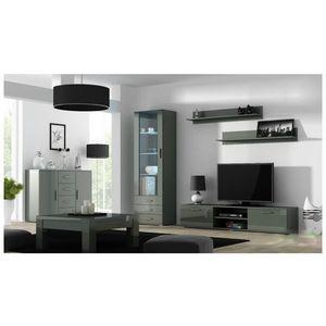 Artcam Obývacia stena Soho 2 Farba: Sivá/sivý lesk vyobraziť