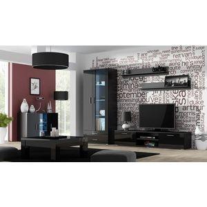 Artcam Obývacia stena Soho 9 Farba: Čierna/čierny lesk vyobraziť