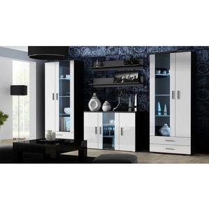 Artcam Obývacia stena Soho 10 Farba: čierna/biely lesk vyobraziť