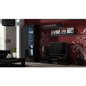 Artcam Obývacia stena Soho 11 Farba: Čierna/čierny lesk vyobraziť