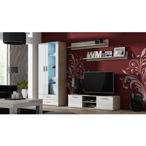 Artcam Obývacia stena Soho 11 Farba: dub sonoma/biely lesk vyobraziť