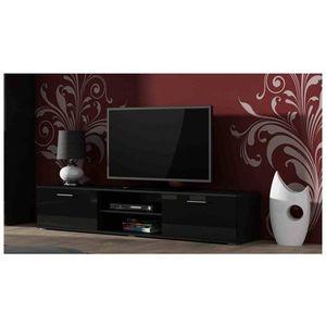 Artcam TV stolík SOHO 180 cm Farba: Čierna/čierny lesk vyobraziť