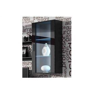 Artcam Visiaca vitrína SOHO S2 Farba: Čierna/čierny lesk vyobraziť