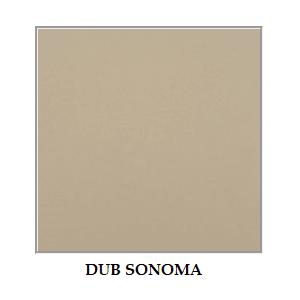 ArtElb Jedálenský set OSLO 6 / ROMA 3 (1+6) Farba: dub sonoma vyobraziť