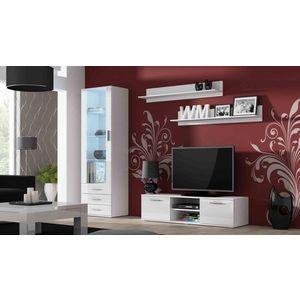 Artcam Obývacia stena Soho 7 Farba: Biela/biely lesk vyobraziť