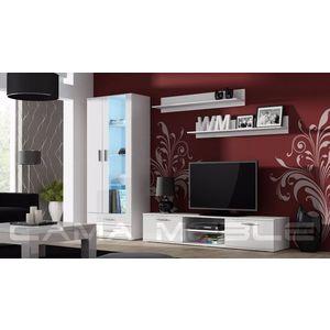 Artcam Obývacia stena Soho 8 Farba: Biela/biely lesk vyobraziť