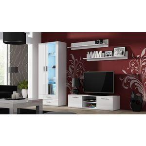 Artcam Obývacia stena Soho 11 Farba: Biela/biely lesk vyobraziť