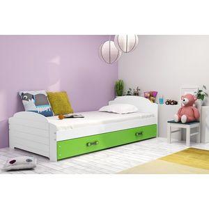 BMS Detská posteľ Lili Farba: Biela - grafit vyobraziť